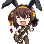 Want your own Bunny Haruhi? Now you can!