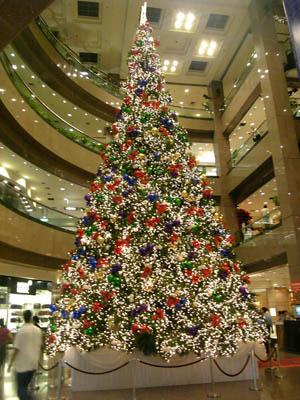 Huge shiny tree